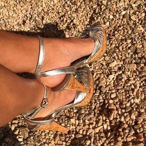 🍋MARC FISHER heels sz 7.5